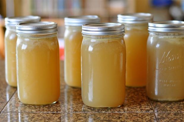 bone broth jars